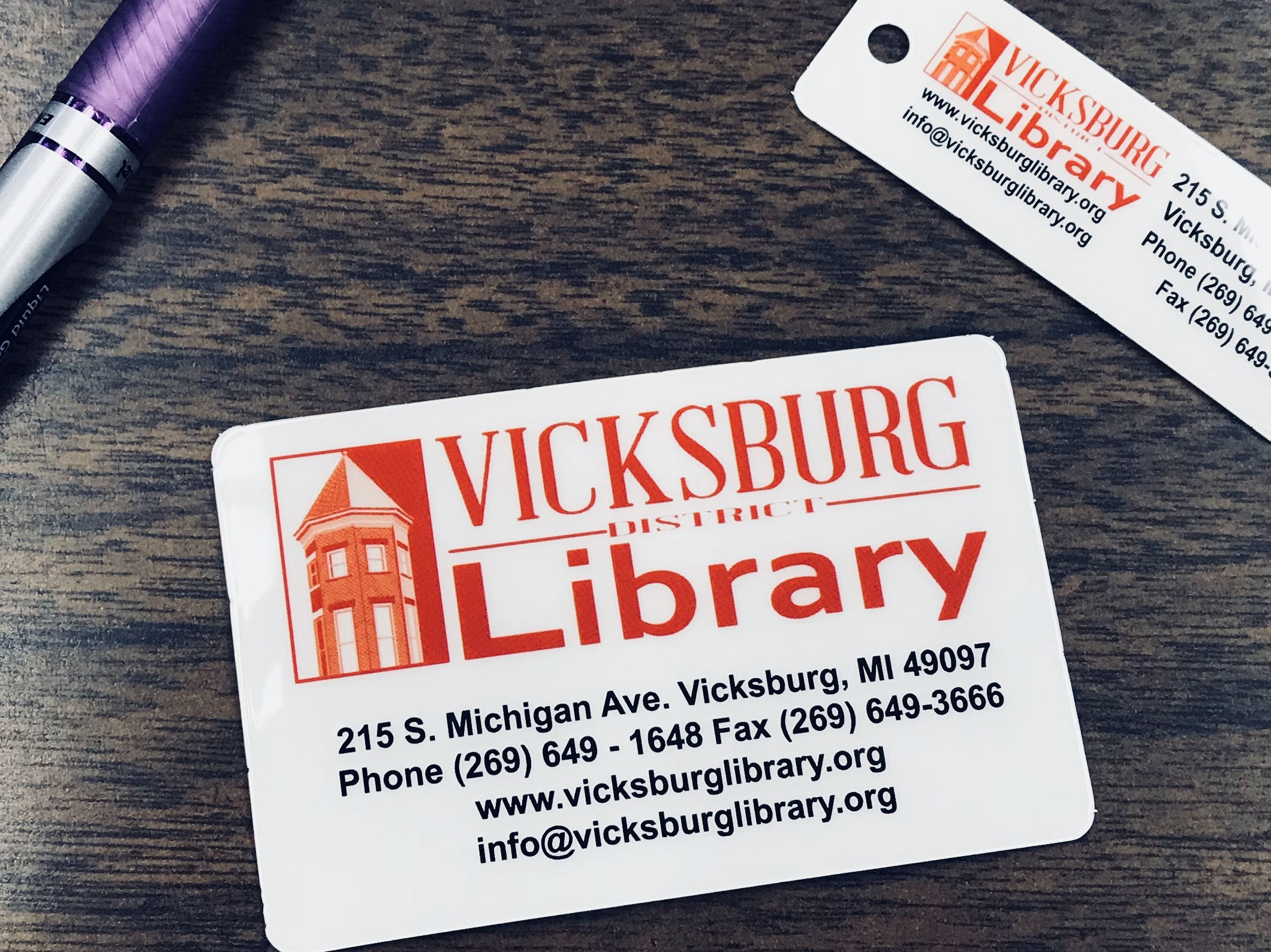 Getting a Library Card – Vicksburg District Library